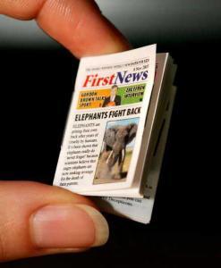 First News - самая маленькая газета в мире