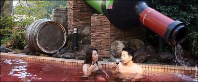 бассейн с вином