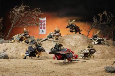 Семь мышей-самураев