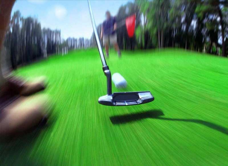 Фото игра в гольф
