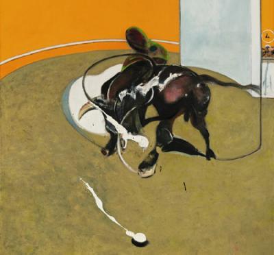 Картина британского художника Фрэнсиса Бэкона (Francis Bacon) — «Этюд боя быков N1»