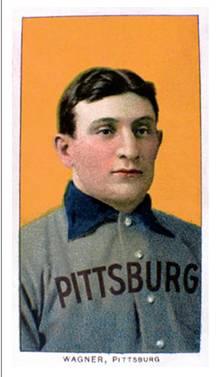 Карточка бейсболиста Онуса Вагнера
