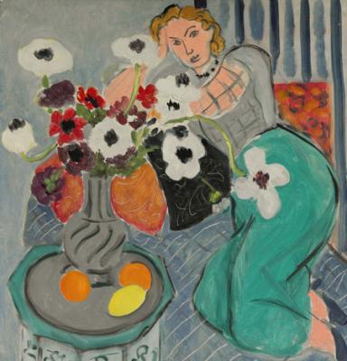 Картина Анри Матисса (Henri Matisse) «L`Odalisque, Harmonie Blueue»