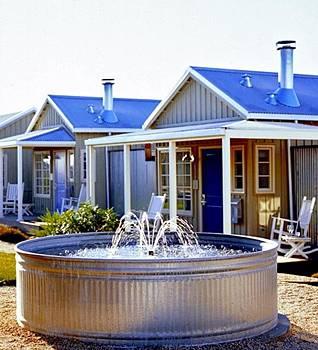 Коттеджный поселок Carneros Inn, округ Напа, штат Калифорния