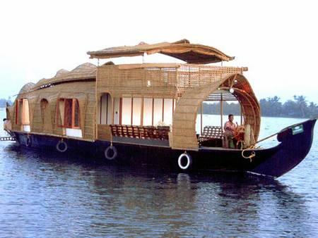 плавучий дом, дом на воде