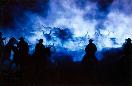 Фотография Ричарда Принса «Силуэты ковбоев»