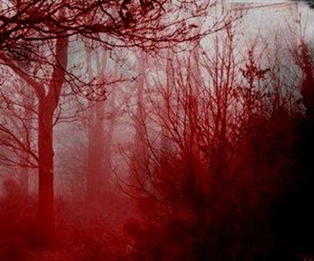 кровавый туман